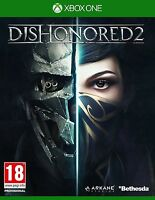 Dishonored 2 XBOX ONE - MINT - XBOX ONE X ENHANCED - 1st Class Delivery
