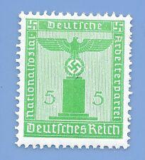 Germany Third Reich Nazi 1938 Nazi Swastika Eagle 5 Stamp MNH WW2 ERA