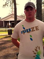 FUZE Beige 100% Cotton Size XL T-Shirt