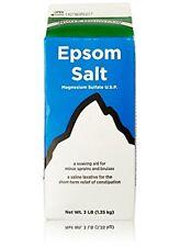 WHITE MOUNTAIN Epsom Salt 100% Natural Mineral Healthy Benefits Food Grade 2lb