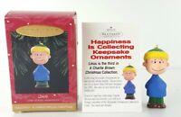 Hallmark Keepsake Ornament 1995 Linus A Charlie Brown Christmas Peanuts New Gift