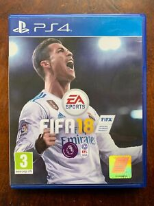 FIFA 18 PS4 2018 Football Soccer Game for Sony PlayStation 4