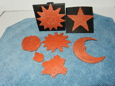 Rubber Stamps Velcro Back Mounts
