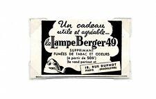 1940 / Publicité pour la Lampe berger / Eclairage / LD81