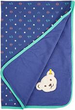 Steiff Jungs Decke Jerseydecke Babydecke Kuscheldecke Bär  90 x 60 cm