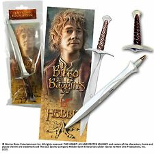 The Hobbit Bilbo Bookmark And Sting Sword Pen Lord Of The Rings Gift Brand New