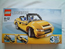 Lego Creator 5767 Cool Cruiser Car. 3 in 1 Vehicle Boxed Set Age 8+ New + Sealed