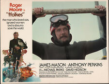 FFOLKES/NORTH SEA HIJACK original 1980 lobby card ROGER MOORE 11x14 movie poster