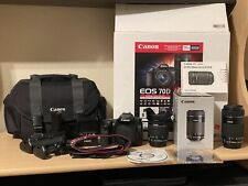 Canon EOS 70D - (Kit w/ 18-55mm, 55-200mm, Gadget Bag, Neewer Battery Grip)