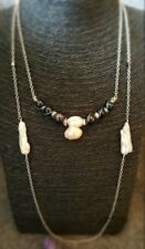 HANDMADE! Genuine Pearl Necklace 30034