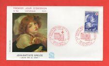 FDC 1971 - Bambina Al Cane Da Jean-Baptiste Greuze (1446)