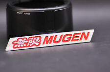 Mugen Chrome Emblem Badge (Red) suit for Acura TSX RSX Honda Civic S2000 Accord