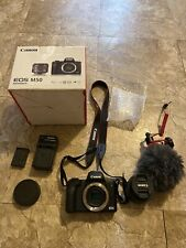 Canon EOS M50 24.1MP Mirrorless Digital Camera With Accessories