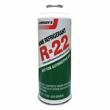 1 - 15oz Can of R-22 R22 Johnsen's Home AC Air Conditioning Refrigerant
