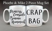 Friends TV Show Phoebe & Mike Mug Set Present Gift Anniversary Wedding