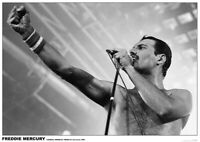 QUEEN POSTER THE WORKS TOUR FREDDIE MERCURY LIVE LONDON WEMBLEY ARENA 1984