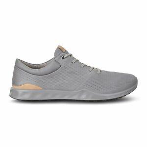 NEW w/box Size 11 Mens Ecco Golf S-Lite 'Wild Dove' Grey Shoe suede 151904-01539