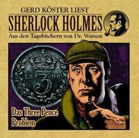 SHERLOCK HOLMES-DAS THREE PENCE PROBLEM AUS DEN TAGEBÜCHERN VON DR.WATSON CD NEW