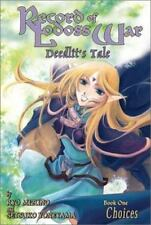 Record of Lodoss War Deedlit's Tale : Choices Vol. 1 rare oop AC Manga graphic