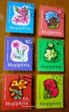 EBS Topicals Albania Shqiperia 1965 Flowers IMG_8289.jpg