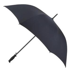 totes Plain Black Golf Umbrella