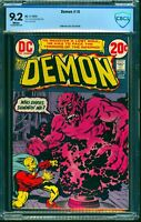 Demon #10 CBCS NM- 9.2 White Pages