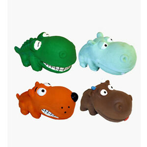 """Multipet Mini Latex Animals 3.5"""" Dog Toy Characters Vary"""