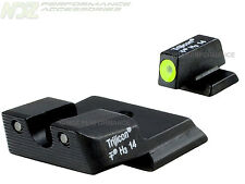 Trijicon HD Night Sights Smith & Wesson M&P Shield Yellow Front Outline 600721
