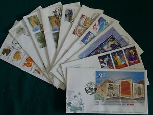 Cyprus 1999 Complete year set FDC's.