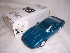 AMT 1/25 1996 DEALER PROMO CAR CORVETTE AQUA BLUE -MIB