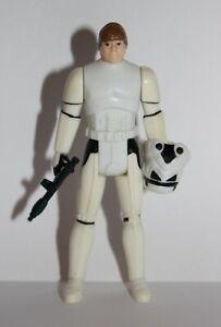 Vintage Star Wars Complete POTF Last 17 Luke Stormtrooper Figure - 1984 - C9+