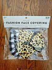 Fashion Face Mask Reusable Washable in Package