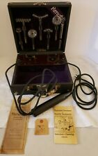 Antique Working Renulife Violet Ray Generator Quack Medical Doctors Shock Device