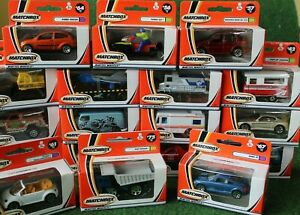 Matchbox vehicles diecast boxed 21 years old