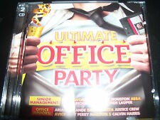Ultimate Office Party Various 2 CD Ft Abba David Guetta Katy Perry Cyndi Lauper