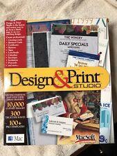 Design & Print Studio for Macintosh