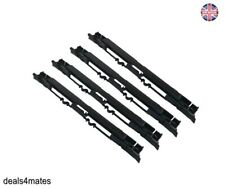 4X Roof Luggage Rail Trim Moulding Covers For Vauxhall Opel Astra H Zafira B