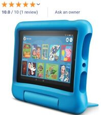 All-New LATEST Amazon Fire 7 Kids Edition 7 Inch Tablet & E-Reader Blue SEALED A