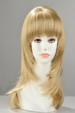 PERRUQUE KATE CHEVEUX MI-LONG BLOND. Ref:540354