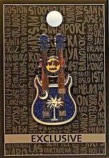 Hard Rock Cafe Myrtle Beach Pin Core Palmetto Doubleneck Guitar 2016 New # 89256