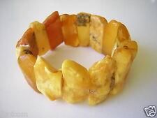 Roh Bernstein Armband 38,9 g Butterscotch Amber Bracelet