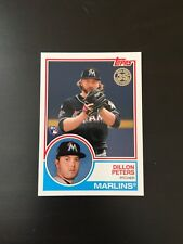 2018 Topps Series 2 1983 Dillon Peters RC Insert Marlins