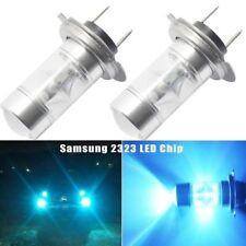 Skoda Superb 2002 + 2 X H7 Super Blanca Cree LED SMD 30W Bulbos Canbus Luz + 501