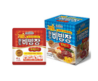 Korean PALDO Sweet & Spicy Multi Purpose Special Hot Sauce 40g x 10pack