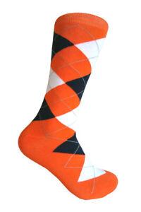 Peach /Orange Dress Socks  for Men