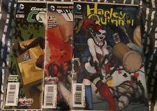 Harley Quinn-3D Detective Comics 23.2, Green Lantern 39, Justice League United 9