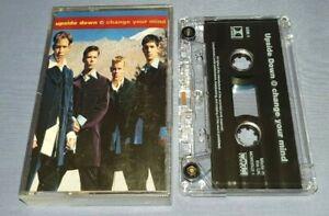 UPSIDE DOWN CHANGE YOUR MIND cassette tape single