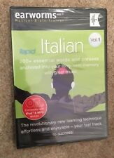 Learn To Speak Italian Vol 1. 200+ Essential Words/Phrases. Brand New. Sealed.