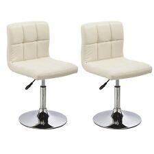 chaises de salle à manger cuisine Ensemble deux - Bari - Crème