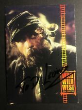 TED LEVINE SIGNED WILD WILD WEST CARD, COA & MYSTERY GIFT